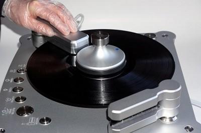 Schallplattenwäsche